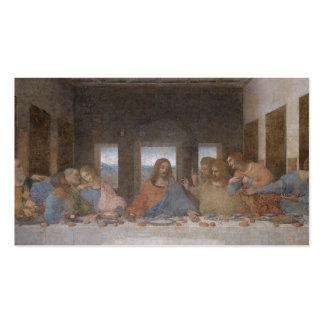 Letztes Abendessen-Leonardo da Vinci-Malen Visitenkartenvorlagen