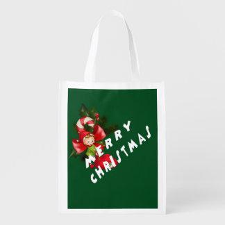 Letztes Jahr Weihnachten Wiederverwendbare Einkaufstasche