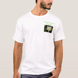 Leuchtende Blume T-Shirt
