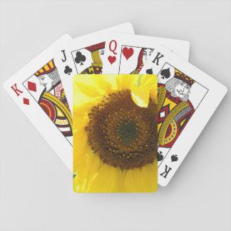 Leuchtende Sonnenblume II Spielkarten