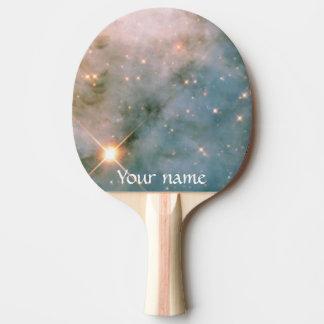 Leuchtender Carina-Nebelfleck Tischtennis Schläger