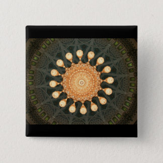 Leuchter des Bedauerns in Oman-Knopf Quadratischer Button 5,1 Cm