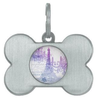 Leuchterparis Eiffel des Chic französischer lila Tiermarke