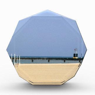 Leuchtfeuer-Licht der Michigansee-Ufer Acryl Auszeichnung