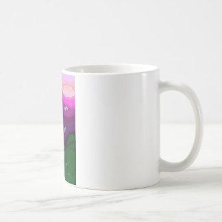 Leuchtkäfer-Sommer Kaffeetasse