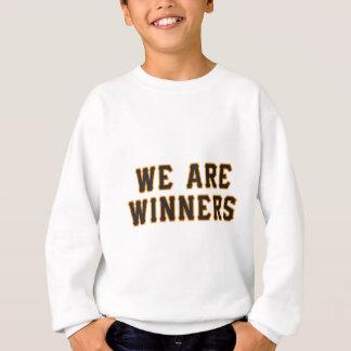 Leuchtorangewörter für alle großen Leute Sweatshirt