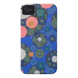 Leuchtstoff abstrakte Beschaffenheits-Formen iPhone 4 Hüllen