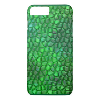 Leuchtstoffreptil-Fall für das iPhone 7 Plus iPhone 8 Plus/7 Plus Hülle