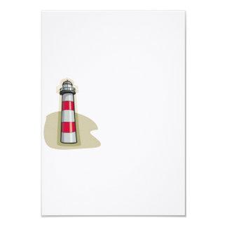 Leuchtturm 8,9 X 12,7 Cm Einladungskarte