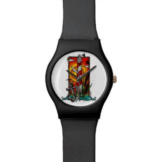 Leuchtturm-Art Armbanduhr