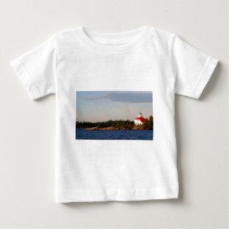 Leuchtturm auf Masse-Insel Baby T-shirt