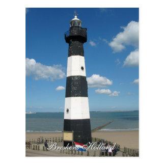 Leuchtturm Breskens Holland Postkarte
