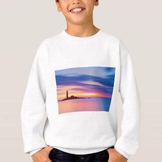 Leuchtturm-Dämmerung Sweatshirt
