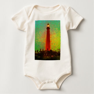 Leuchtturm Daytona Sonnenaufgang die MUSEUM Zazzle Baby Strampler