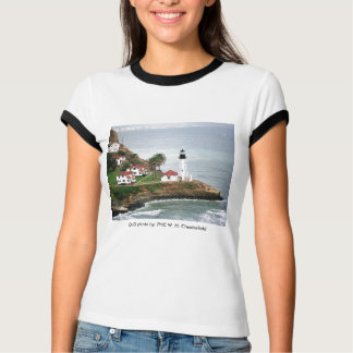 Leuchtturm der Damen-T/Point Loma T-Shirt