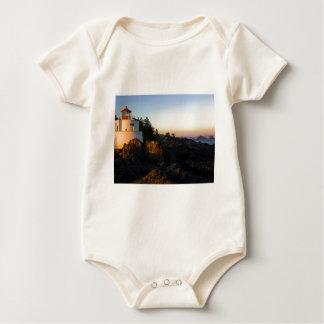 Leuchtturm-Fernlastfahrer-Hut Baby Strampler