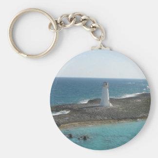 Leuchtturm-Foto Keychain Schlüsselanhänger