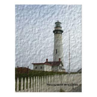 Leuchtturm Foto-Malerei Postkarten