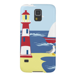 Leuchtturm Galaxy S5 Cover