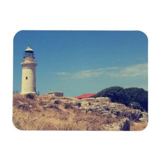 Leuchtturm in Paphos Magnet