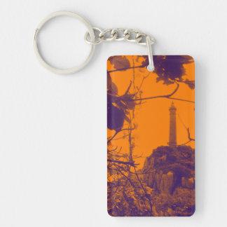 Leuchtturm-Orangen-Foto Vietnams ältestes höchstes Schlüsselanhänger