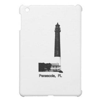 Leuchtturm-Schwarzes Pensacola FL der MUSEUM Zazzl iPad Mini Cover
