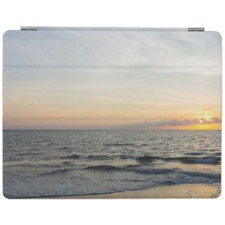 Leuchtturm-Sonnenaufgang iPad Hülle