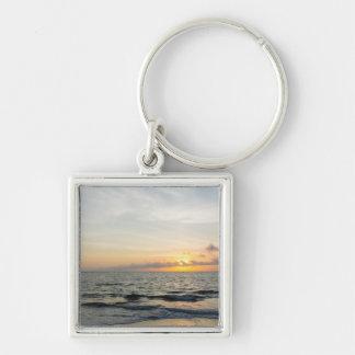 Leuchtturm-Sonnenaufgang Schlüsselanhänger