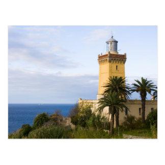 Leuchtturm Tangers Marokko an der Kappe Spartel Postkarte