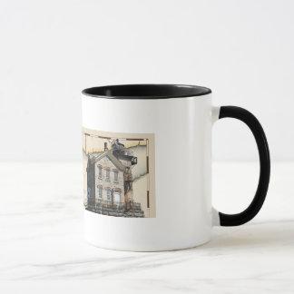 Leuchtturm-Tasse #1, Hudson-Athen u. Saugerties Tasse