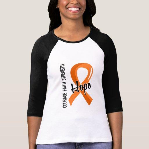 Leukämie der Mut-Glauben-Hoffnungs-5 Tshirts