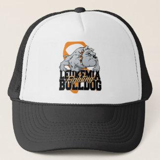 Leukämie-kämpfende Bulldogge Truckerkappe