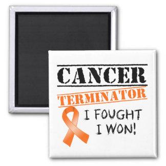 Leukämie-Krebs-Abschlussprogramm Quadratischer Magnet
