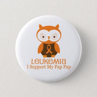Leukämie-orange Band-Knopf-Brei-Brei Runder Button 5,1 Cm