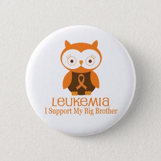 Leukämie-orange Band-Knopf-großer Bruder Runder Button 5,1 Cm