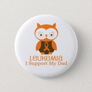 Leukämie-orange Band-Knopf-Vati Runder Button 5,7 Cm