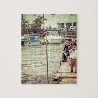 Leute auf dem Pier 2 Puzzle