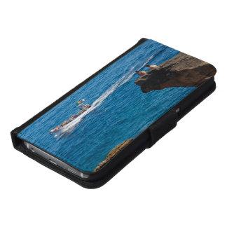 Leute auf einer kleinen Insel Samsung Galaxy S6 Geldbeutel Hülle