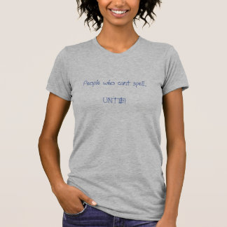 Leute, die Bann. .UNTIE kippen! T-Shirt