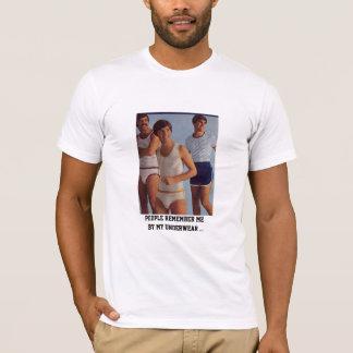 Leute erinnern sich an mich, durch meine T-Shirt