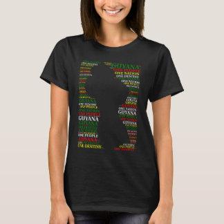 Leute Guyanas eins ein Schicksals-T-Shirt der T-Shirt