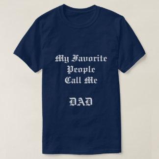 LEUTE-Marineblau-T - Shirt der Männer mein