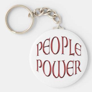 Leute-Power-Unabhängigkeits-Motivations-Geschenk Schlüsselanhänger