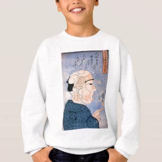 Leute schließen sich zusammen Form eine andere Sweatshirt