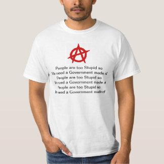 Leute sind dumme ANARCHIE T-Shirt