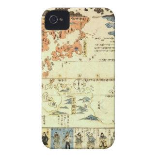 Leute vieler Nationen Ukiyo-e iPhone 4 Hüllen