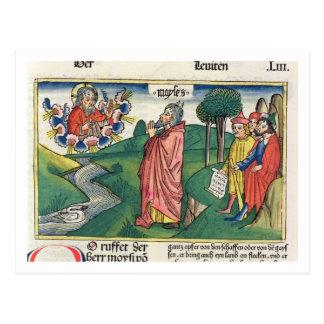 Leviticus 1 1-7 das Gesetz von Angeboten, vom 'NU Postkarte