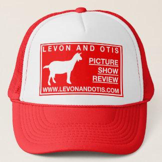 Levon und Otis-Ziegen-Hut Truckerkappe
