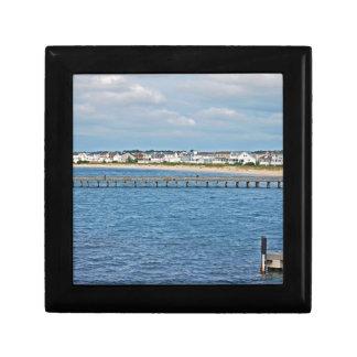 """""""Lewes-Hafen von der Fähre"""" Sammlung Geschenkbox"""
