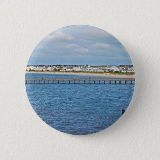 """""""Lewes-Hafen von der Fähre"""" Sammlung Runder Button 5,1 Cm"""